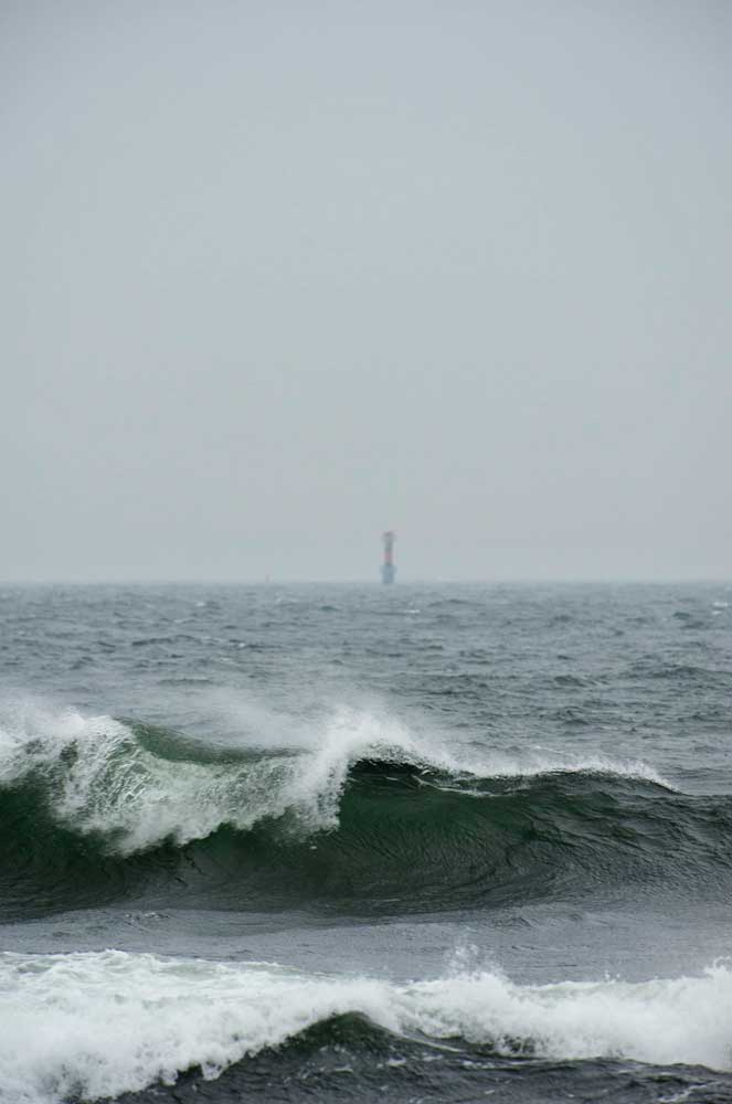 storm Sandhamn Våg Foto