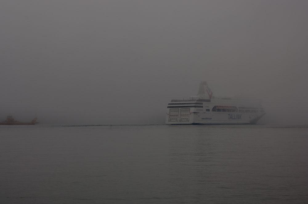 Waxholm i dimma