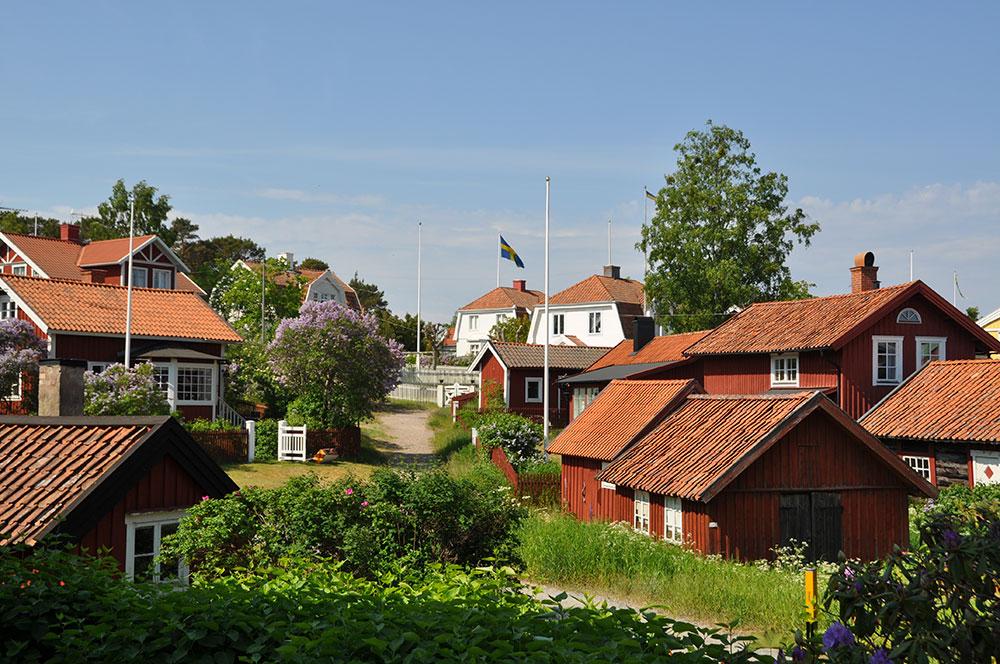 Sandhamn village