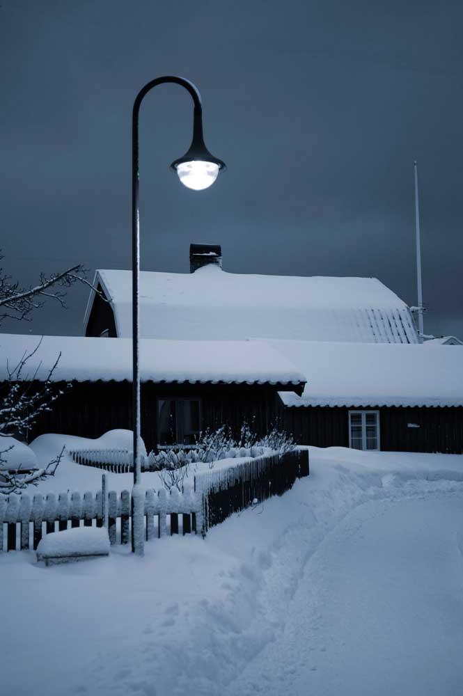 Gatljus Sandhamn Vinter